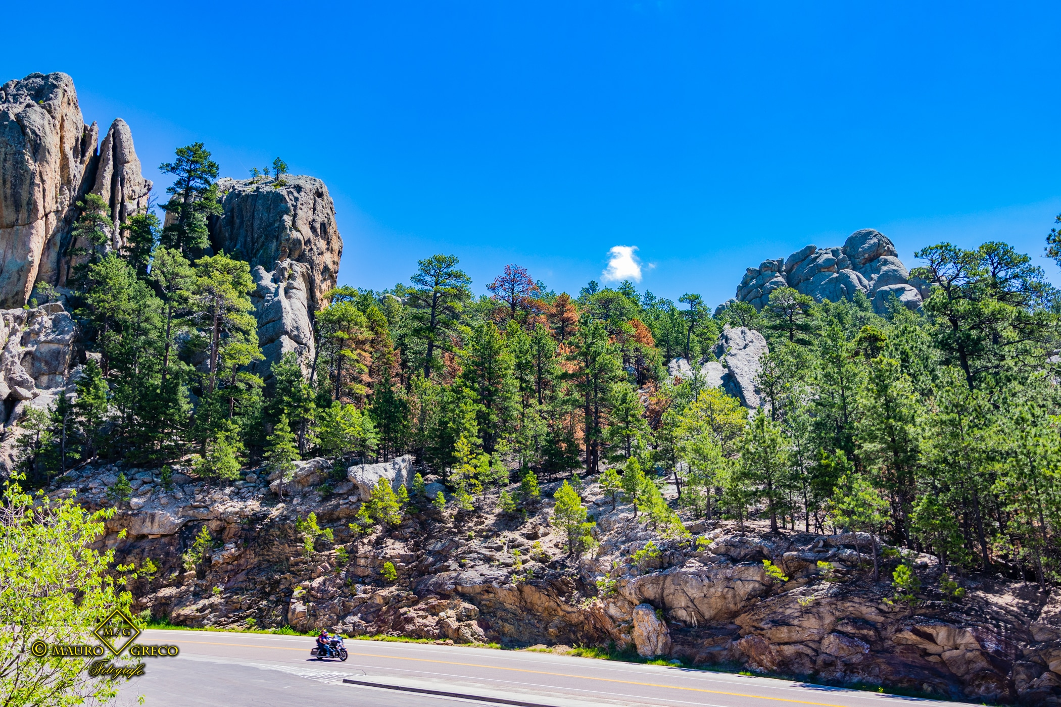 Caster South Dakota 2020 Tornado Moto Tour Viaggi organizzati in moto negli USA Monument Valley